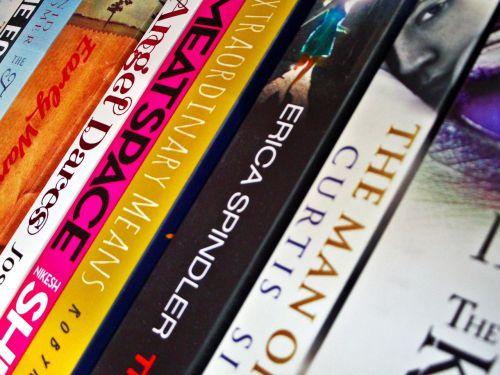 background books shelf