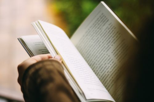 books reading pages