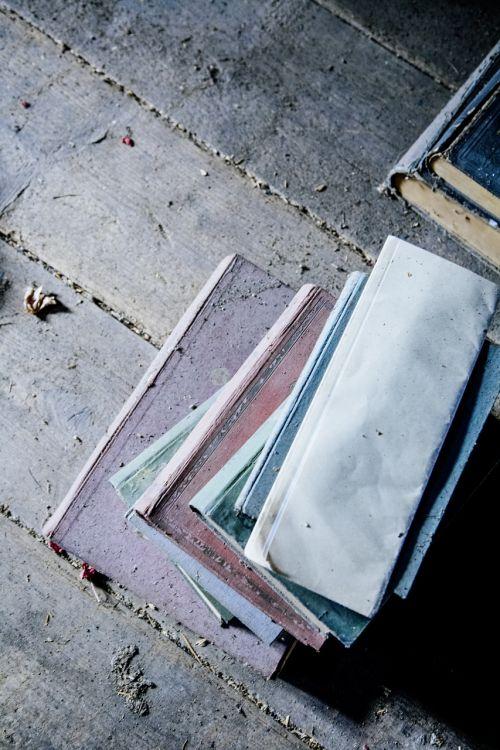 books old attic