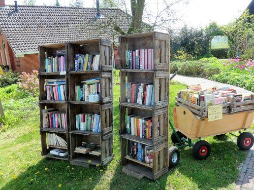 books library closet