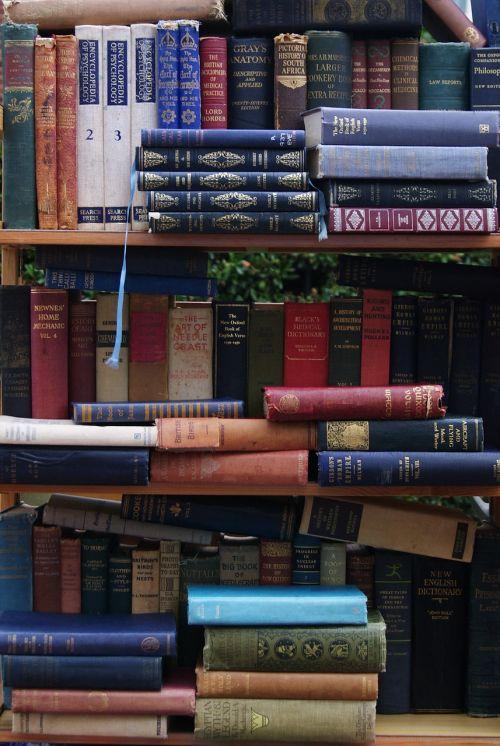 books shelving library