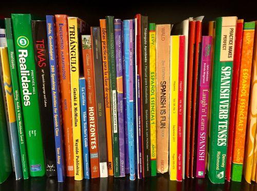 books bookshelf textbooks