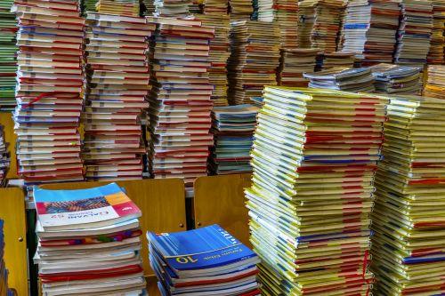 books book stack books pile