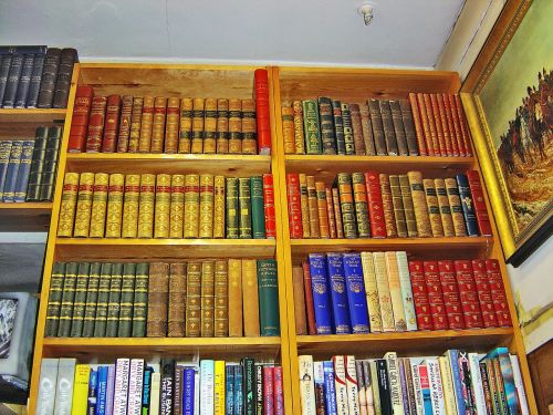 books bookshelves library