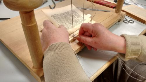 books sewing binding