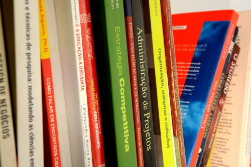 books library bookshelf
