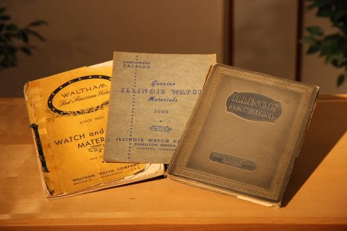 books vintage old watch books