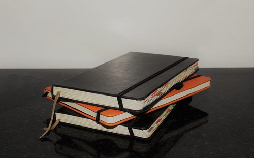 books  notebooks  diary