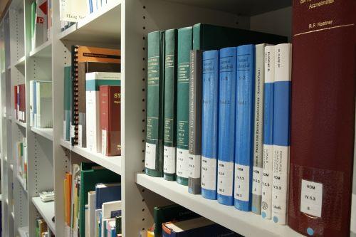 books science shelf