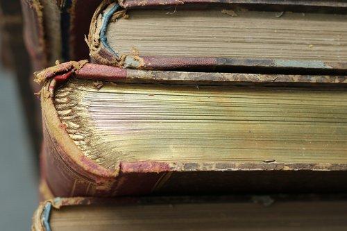 books  old  large books