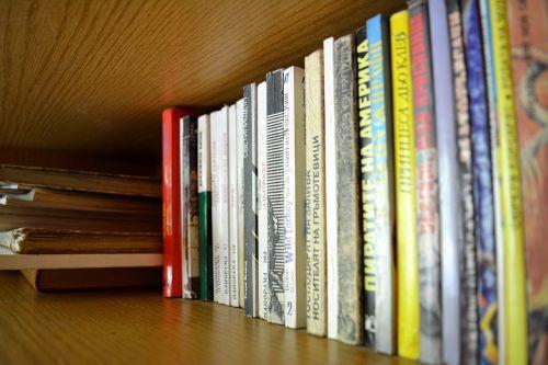 books library literature