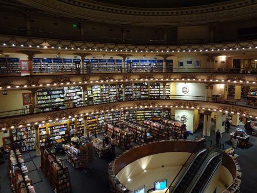 bookstore el ateneo buenos aires