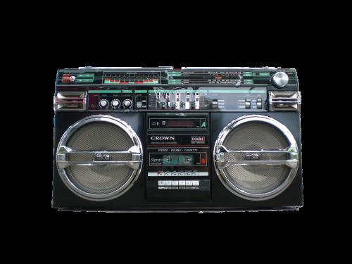 boombox ghetto-blaster stereo