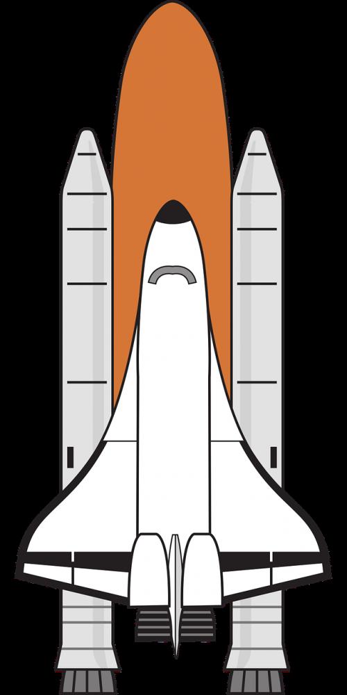 boosters colour nasa