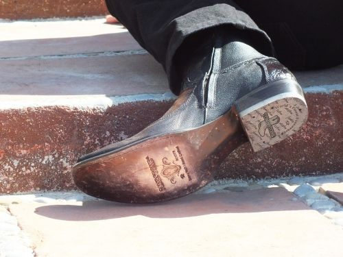 boot sole man