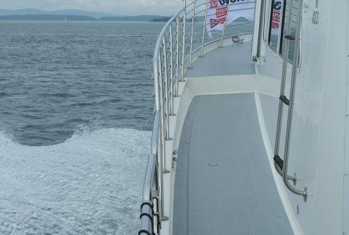 boot railing water