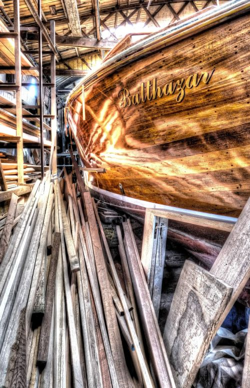 boot repair ship yard sailing