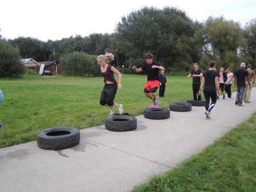 bootcamp car tyres crossfit