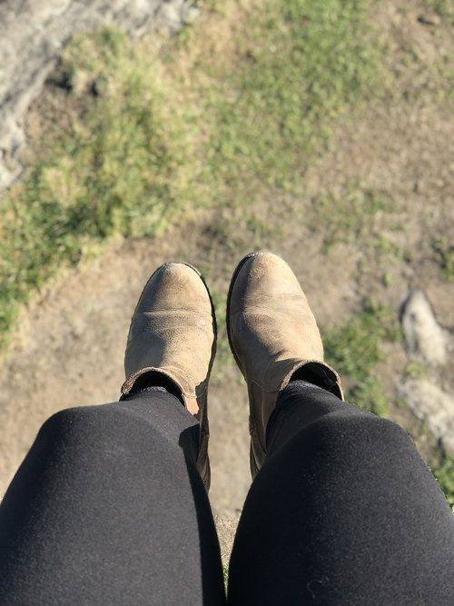 boots  legs  women's legs
