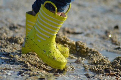boots  boots yellow  yellow