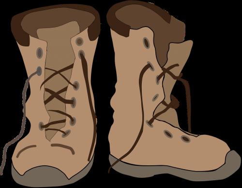batai,pėdos reikmenys,apranga,pora,oda,avalynė,dėvėti,dėvėti,vaikščioti,žygiai,nemokama vektorinė grafika