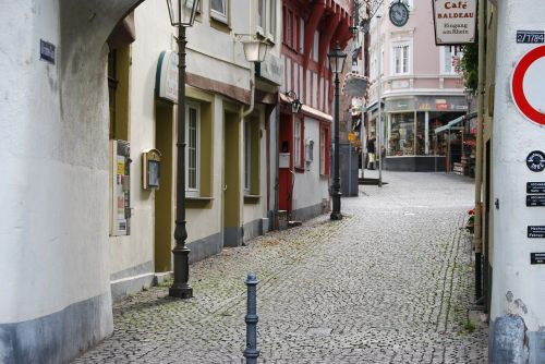 boppard old town alley