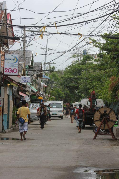 boracay island boracay street