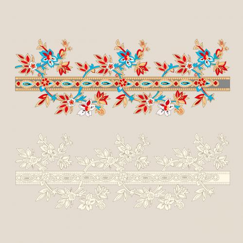 border ornament floral