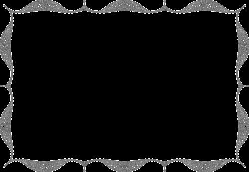 border frame blank