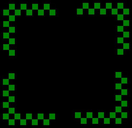 border checkered checkers