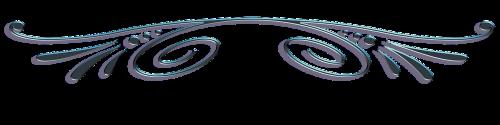 border frame curlicue