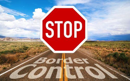 border control border stop