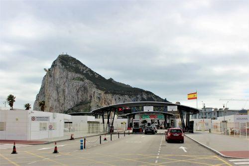 Border Control At Gibraltar Border