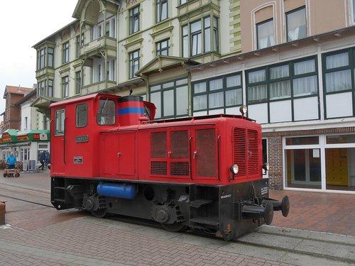 borkum  small ground  island railway