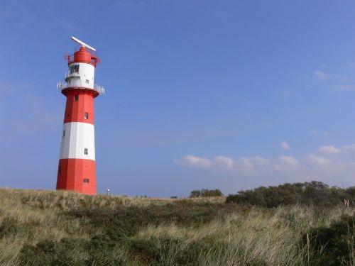 borkum lighthouse navigation