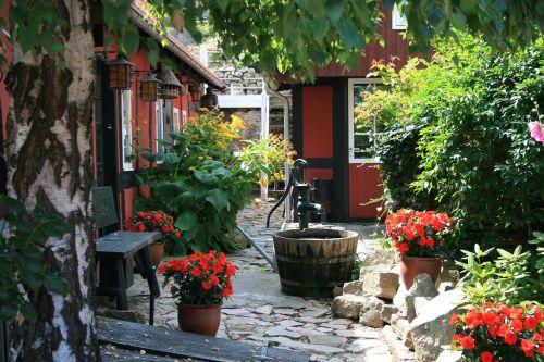 bornholm denmark backyard