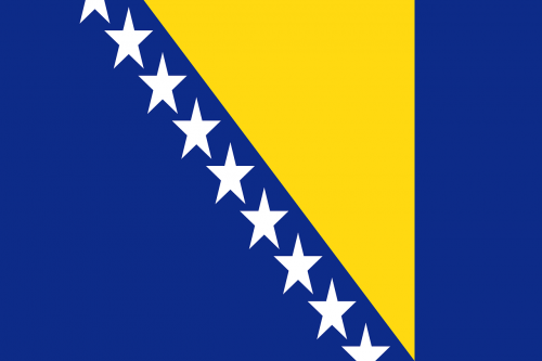 bosnia and herzegovina flag national flag