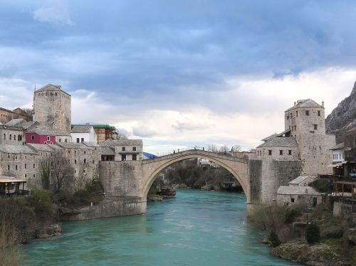 bosnia and herzegovina mostar bridge