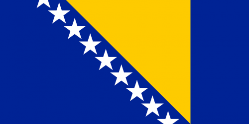 bosnia flag bosnian emblem