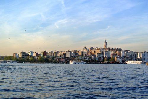 bosphorus istanbul galata tower
