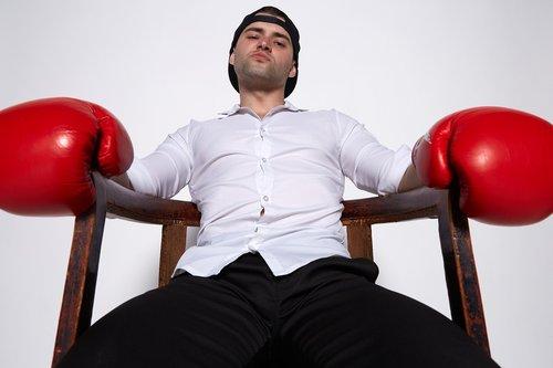 boss  boxing  man