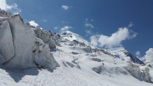 bossons glacier la jonction mont blanc