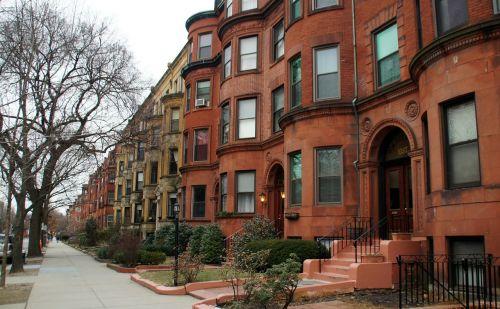 boston apartment row house