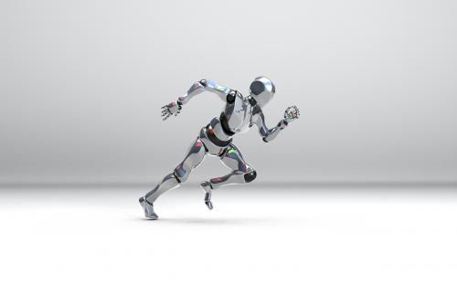 bot droid cyborg