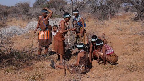 botswana bushman group