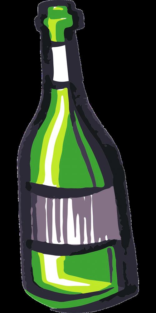 bottle vino wine