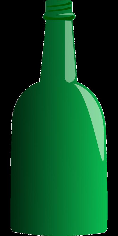 bottle stubby glass