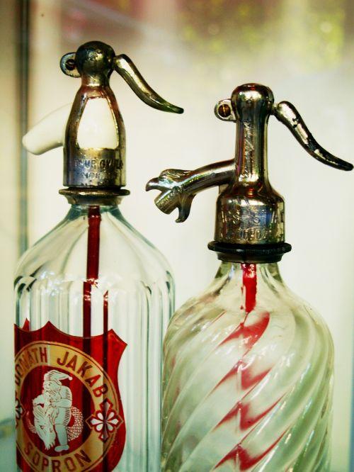 bottle siphon old