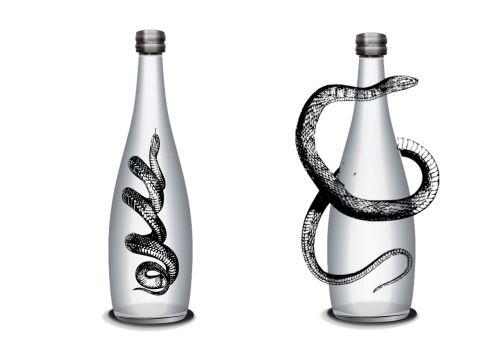 bottle snake alcohol