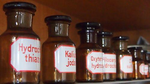 bottle pharmacy pharma